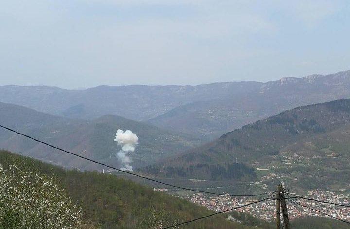 """Photo of Snažna eksplozija u pogonu """"Industrijske zone Pobjeda"""""""
