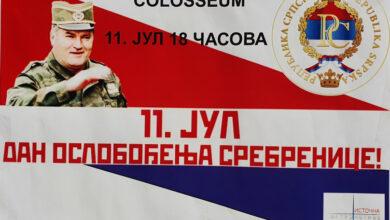"""Photo of Sramotno: """"Istočna alternativa"""" 11. jula obilježava dan oslobođenja Srebrenice"""