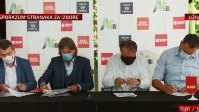 """Photo of """"Sarajevski dogovor 2020"""": Četvorka uvjerena u apsolutnu pobjedu u Kantonu Sarajevo na Lokalnim izborima"""