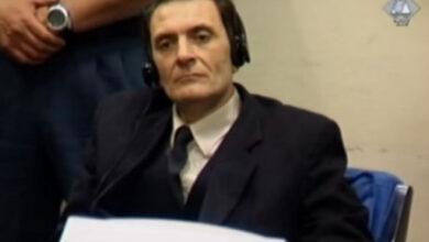 Photo of Ratnom zločincu Dragoljubu Kunarcu odbijen zahtjev za prijevremeno puštanje