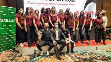 """Photo of Goraždanski """"specijalci"""" osvojili devet zlatnih medalja na prestižnom karate turniru Ilidža open 2021."""
