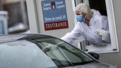Photo of U Kantonu Sarajevo 10 osoba preminulo, 176 novozaraženih