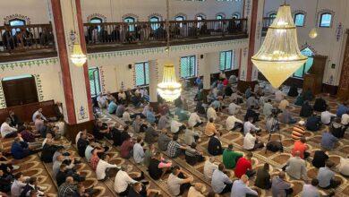 Photo of Veliki broj vjernika na centralnoj svečanosti u džamiji Kajserija u Goraždu